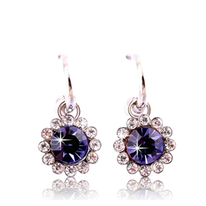Picture of Cool blue drop earrings