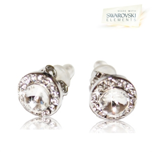 Picture of Angelic Pierced Earrings with Swarovski Elements - S