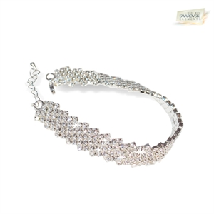 Picture of Diamanta Bracelet with Swarovski Elements