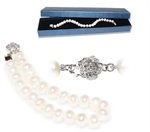 Picture of Classic White Freshwater Pearls Bracelet - S