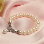 Picture of Butterfly Pearls Bracelet