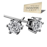 Picture of Swarovski Element  Crystal Star Earrings